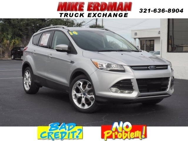 Ford Escape Titanium >> Pre Owned 2014 Ford Escape Titanium Fwd Suv